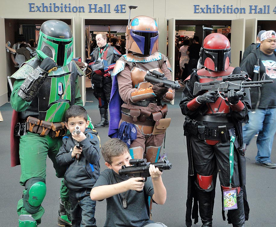 The bounty hunters are out in force!