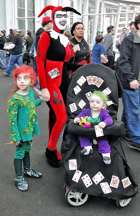 Harley Quinn and here gene pool!