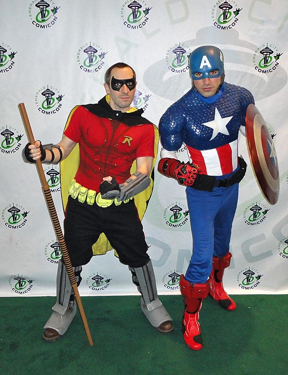 Captain America reaches into the DC Universe and pulls out Robin