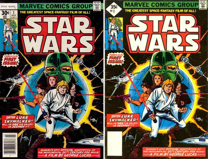 Marvel Comics Star Wars #1