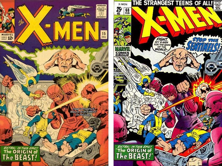 X-Men Comics were in a reprint phase for 5.5 years!