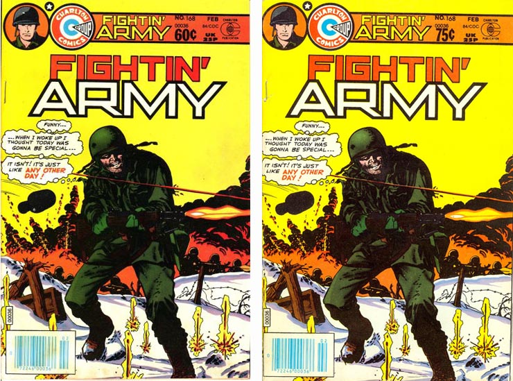 Canadian Newstand price varaint comic book