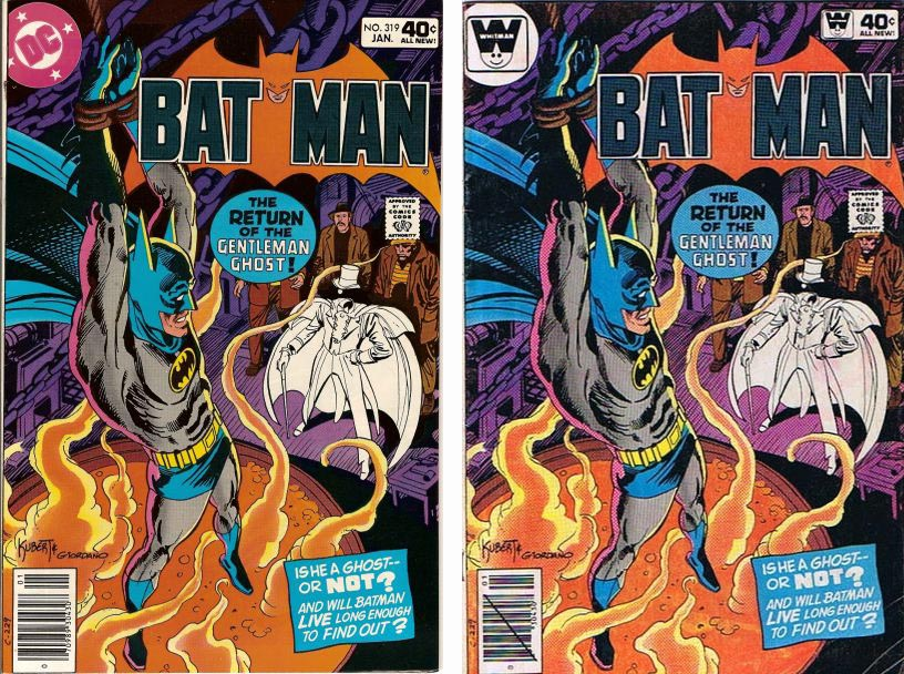 Batman Comics #319