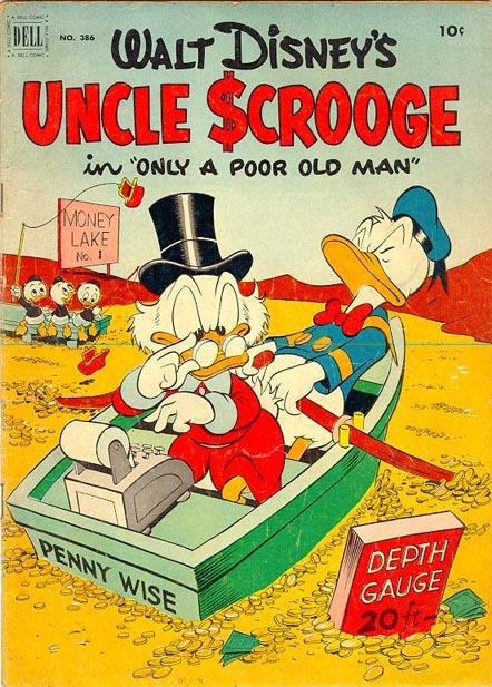 Uncle Scrooge #1 by Carl Barks