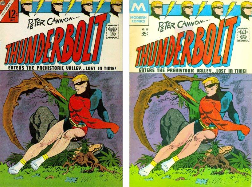 Charleton Comics Thunderbolt #58