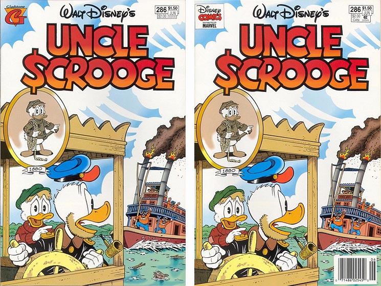 Uncle Scrooge Comics #286