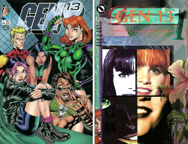 Gen 13 #1 Variant covers