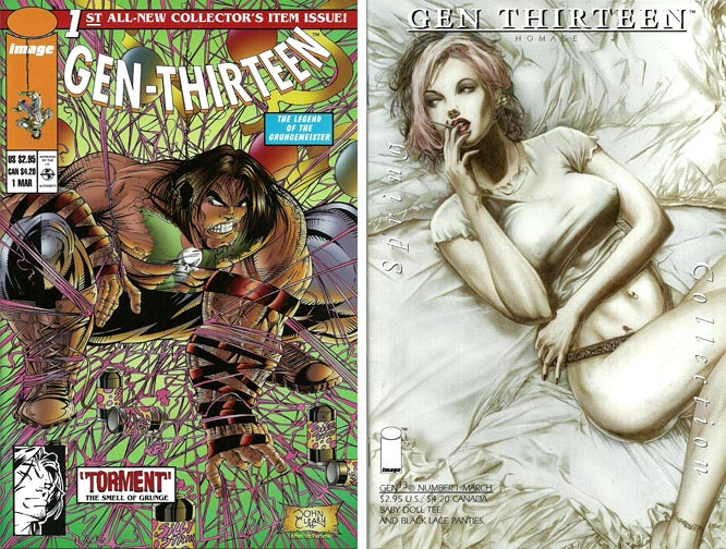 Gen 13 #1 Variant covers