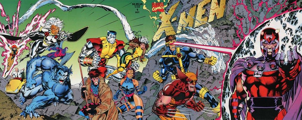 X-Men #1 Quad Gatefold variant