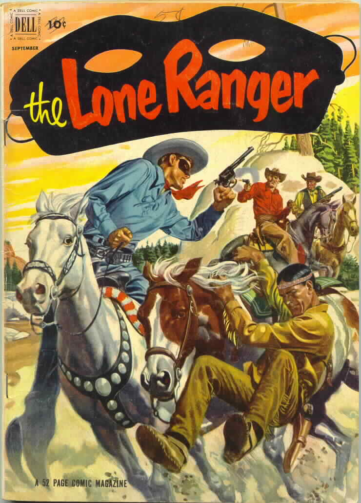 All time favorite comic covers Lone Ranger #51