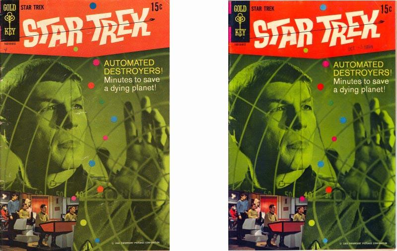 Gold Key Comics Star Trek #3 front cover