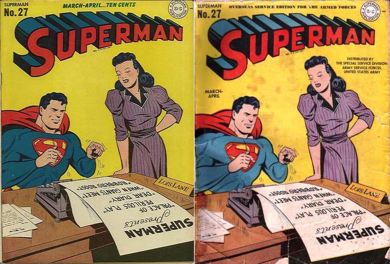 Superman #27 variant comic