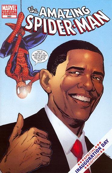 Amazing Spider-Man #583 Obama Variant 1st printing