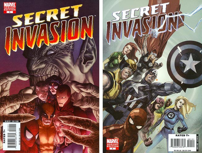 Marvel Comics tiered incentives.