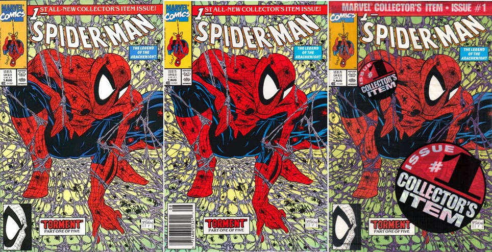 Spider-Man #1 regular edition variants