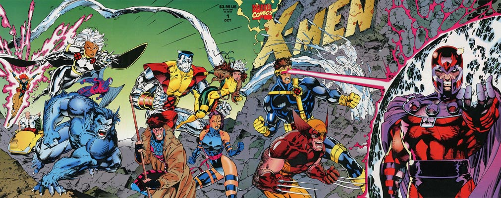 X-Men #1 Quad Gatefold variant
