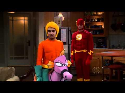 """Aquaman Sucks"" in the Big Ban Theory!"