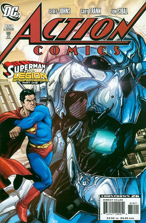 Action Comics 858 ( 1 in 10 Incentive Variant)