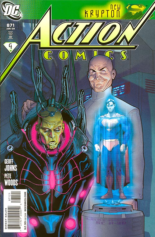 Action Comics 871 ( 1 in 10 Incentive Roux Variant)
