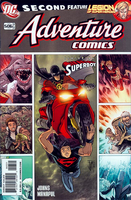 Adventure Comics vol 2 - 3 ( 1 in 10 Incentive 506 Variant)