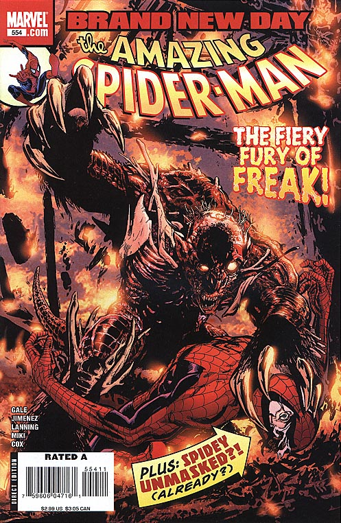 Amazing Spider-Man 554