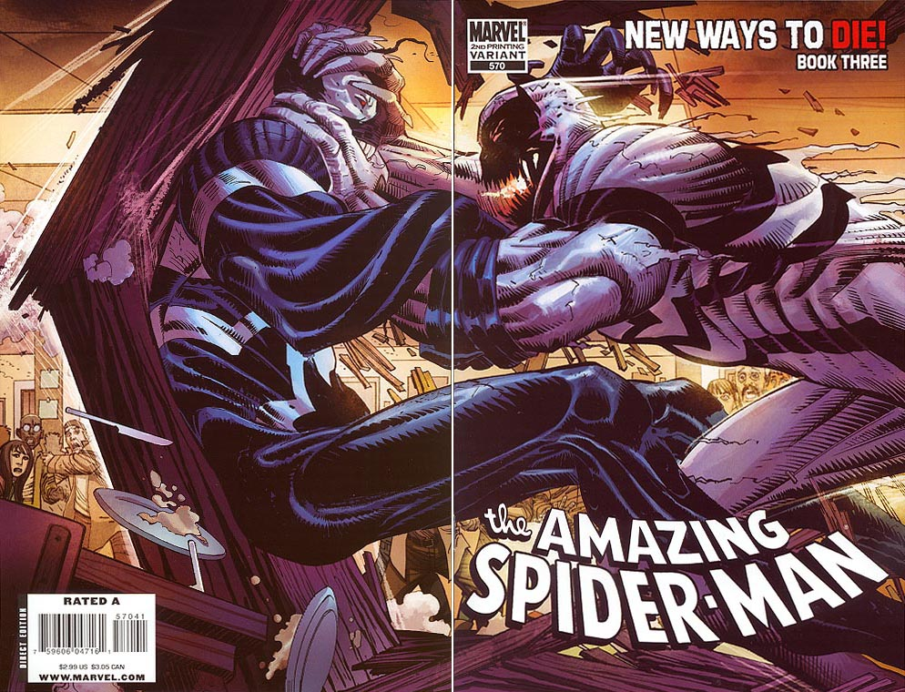 Amazing Spider-Man 570 (Second Printing John Romita Jr Wrap Cvr)