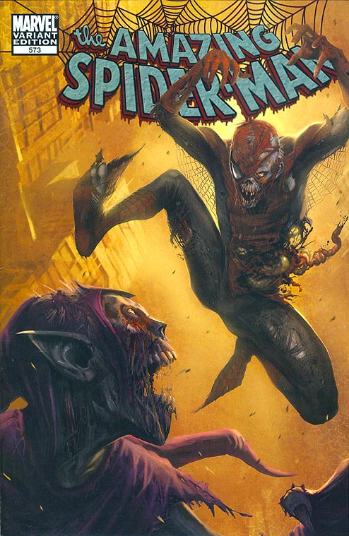 Amazing Spider-Man 573 ( 1 in 10 Incentive Zombie Marko Djurdjevic Variant)