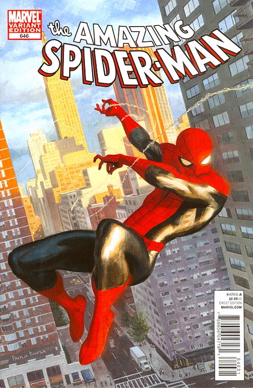 Amazing Spider-Man 646 ( 1 in 15 Incentive Rivera Spidey Vs Variant)