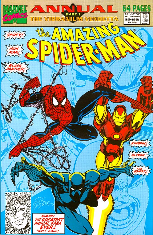 Amazing Spider-Man Annual 25