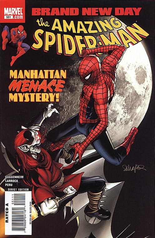 Amazing Spider-man 551