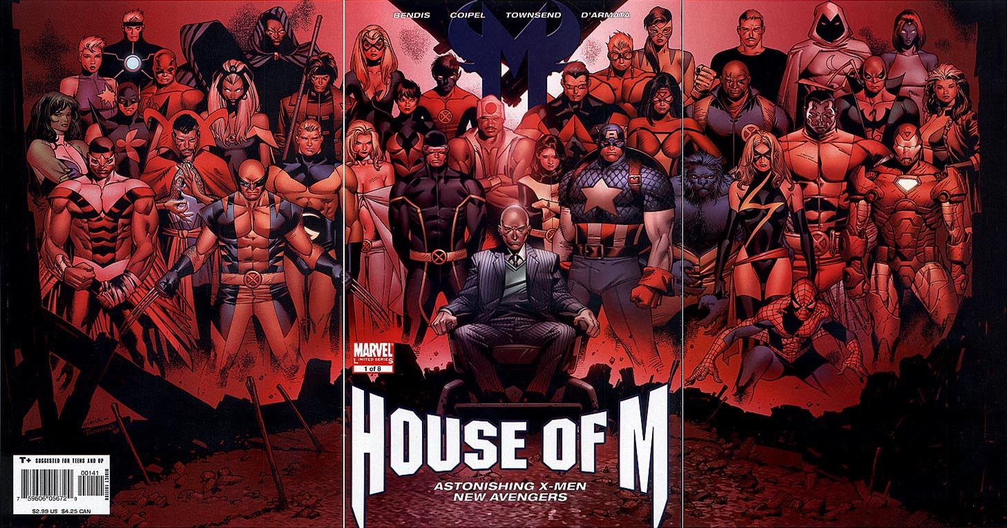 House of M 1 (of 8 ) (Limited Ed Tri-Gatefold Variant)