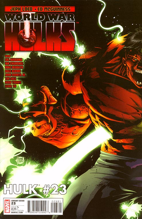 Hulk vol 3 - 23 ( 1 in 20 Incentive Adam Kubert Variant)