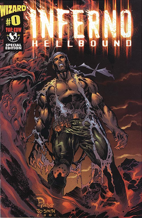 Inferno Hellbound 0 (Polybagged in Top Cow Wizard Special Ed 2001 )