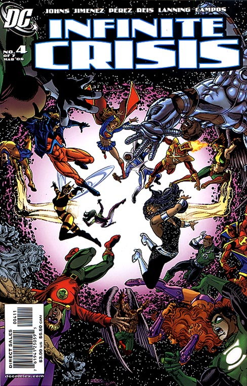 Infinite Crisis 4 (of 7 ) George Perez Cvr