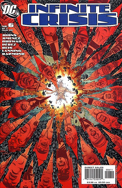 Infinite Crisis 6 (of 7 ) George Perez Cvr