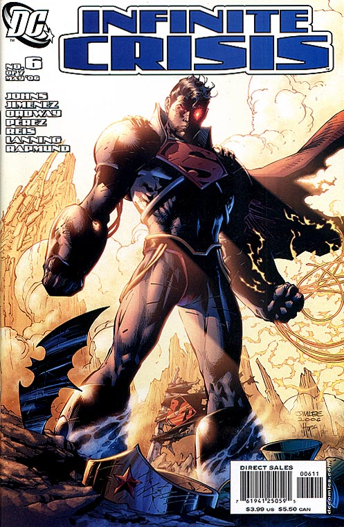 Infinite Crisis 6 (of 7 ) Jim Lee Cvr