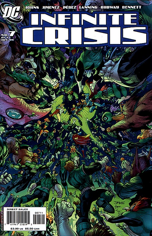 Infinite Crisis 7 (of 7 ) Jim Lee Cvr