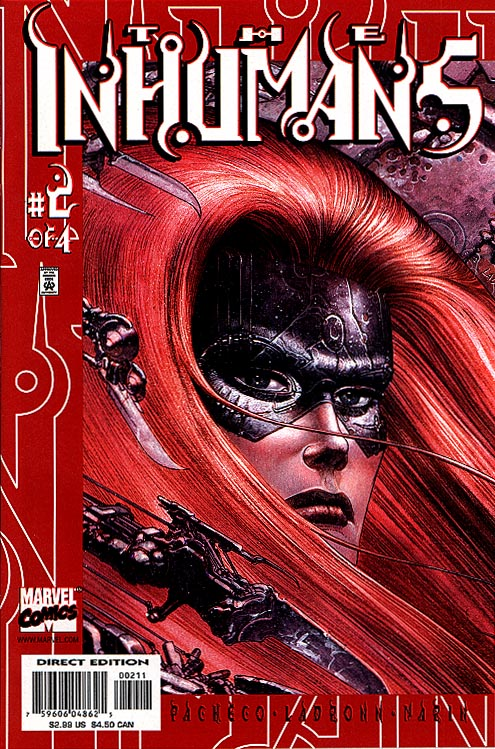 Inhumans vol 3 2 (of 4 )