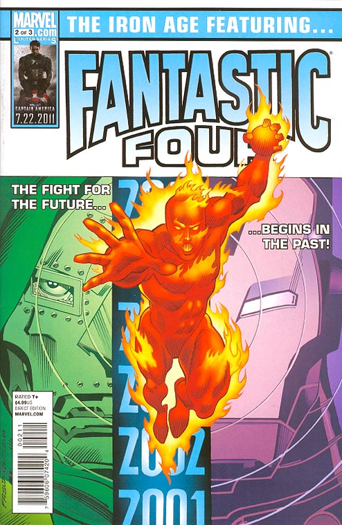 Iron Age 2 (of 3 ) (Fantastic Four Frenz Variant)