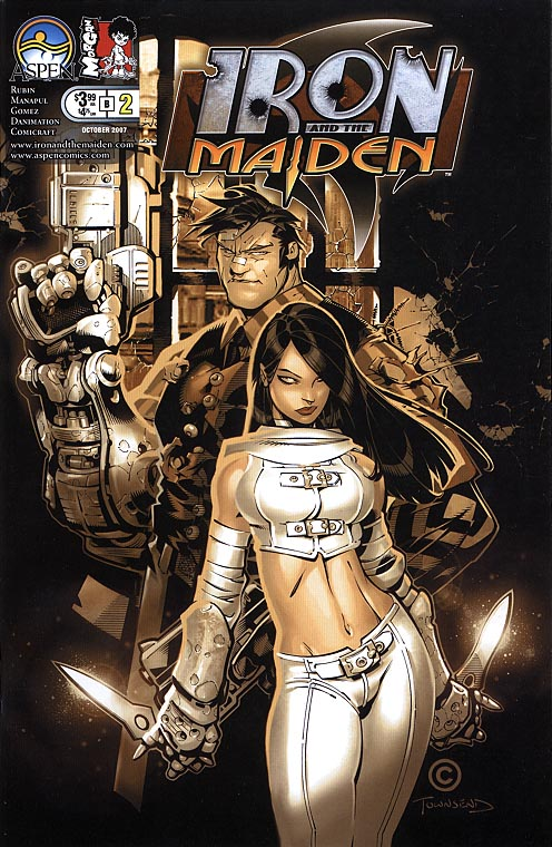 Iron And The Maiden (Aspen) 2 B (Chris Bachalo Cvr)