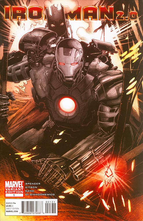 Iron Man 2 point 0 1 ( 1 in 15 Incentive Verma Variant)