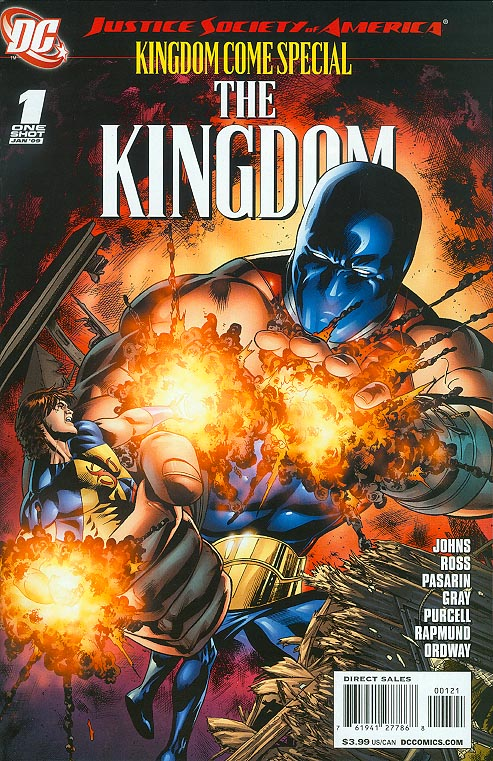JSA Kingdom Come Special The Kingdom 1 ( 1 in 10 Incentive Variant)