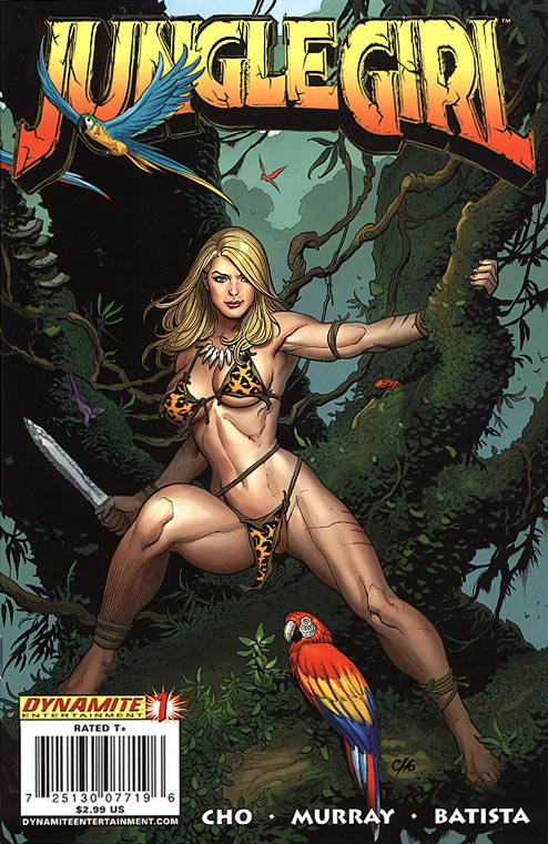 Jungle Girl (Dynamite) 1 A (Frank Cho Cvr)