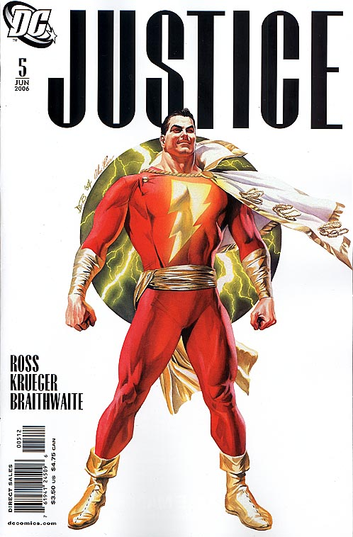 Justice (DC) 5 (Second Printing)