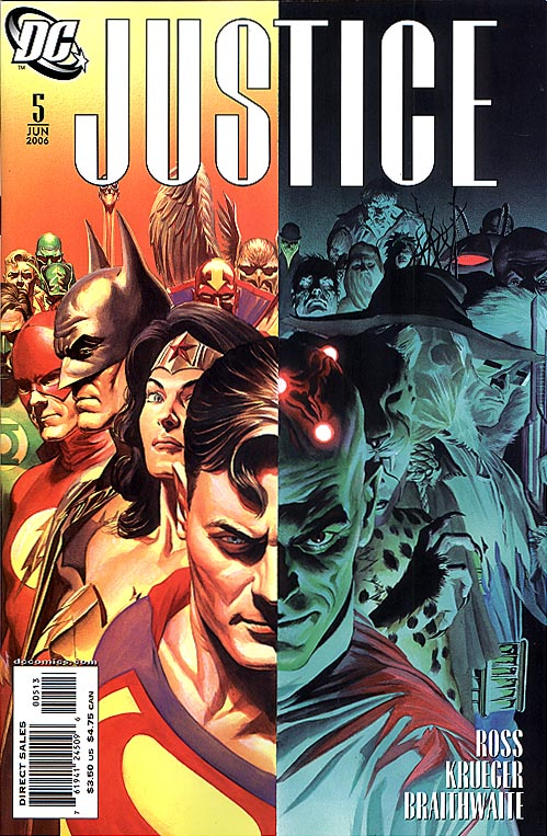 Justice (DC) 5 (Third Printing)