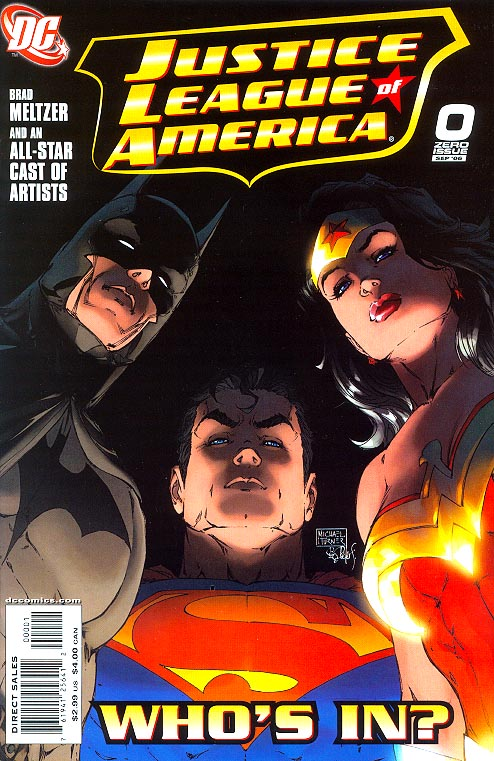 Justice League Of America vol 2 - 0 (Michael Turner Cvr)