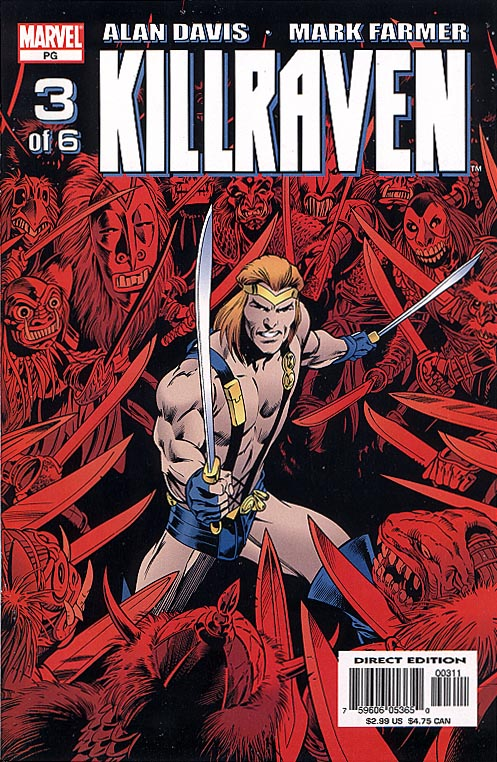 Killraven (Marvel) 3 (of 6 )