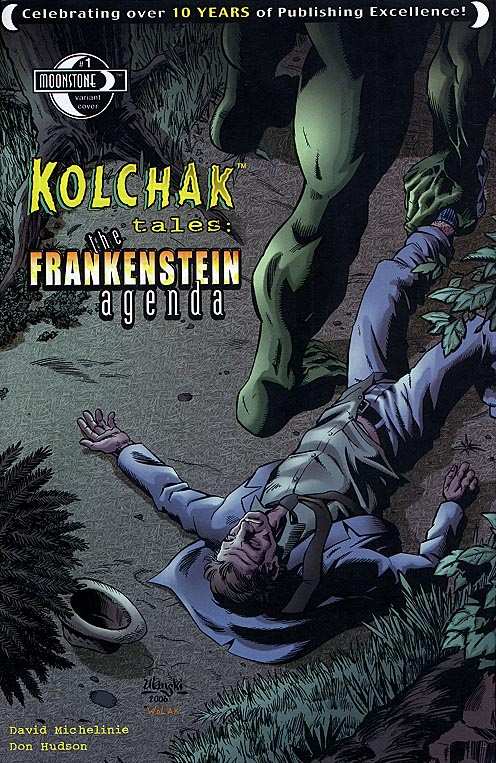 Kolchak Tales The Frankenstein Agenda (Moonstone) 1 ( 1 in 5 Incentive Variant Cvr)