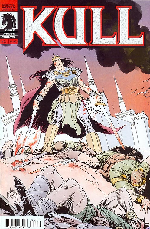 Kull 1 (of 6 ) (Joe Kubert Middle of 3 Interconnecting Variants)