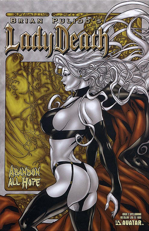 Lady Death Abandon All Hope 2 (Spellbound Richard Ortiz Cvr 1 of 1000 )